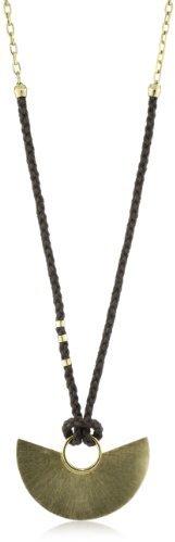 Citrine by the Stones Luna Hemp Pendant Necklace