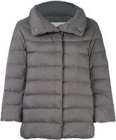 Herno cropped sleeve padded jacket - women - Feather Down/Polyamide/Polyurethane - 42