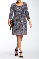 Tart Caspia Print Dress (Plus Size)