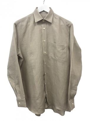 Casely Hayford Casely-hayford Beige Linen Shirts
