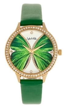 Freda Sophie and Rio Grande Genuine Leather Watches, 38mm