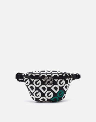 Dolce & Gabbana Nylon Fanny Pack With Logo Print