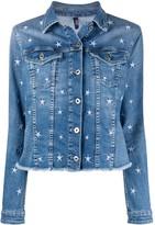 Liu Jo Star Embroidered Denim Jacket