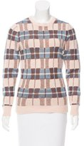 Jonathan Saunders Wool Long Sleeve Sweater