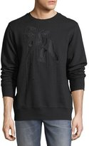 PRPS Embroidered Cherub Sweatshirt