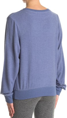 Wildfox Couture Baggy Beach Pullover Sweatshirt