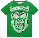 Gucci Children's scroll print t-shirt