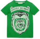 Gucci Children's scroll print t-shirt