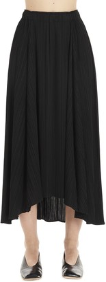 Pleats Please Issey Miyake sliced Skirt