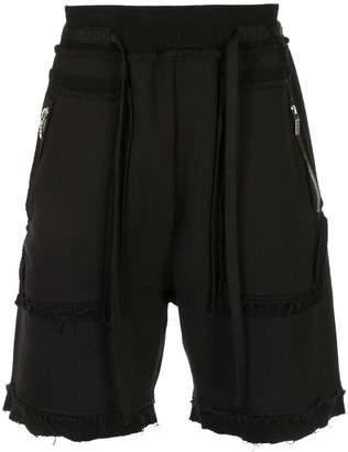 Carpe Diem elasticated track shorts