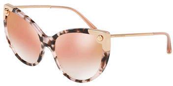 Dolce & Gabbana Acetate & Metal Cat-Eye Sunglasses