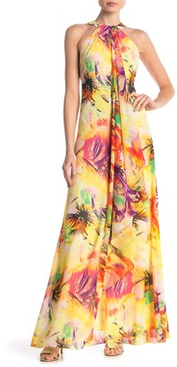 Yumi Kim Aphrodite Halter Maxi Dress