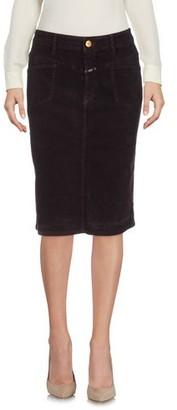 Closed Knee length skirt