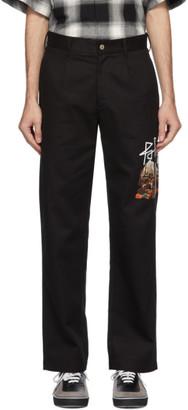Palm Angels Black Desert Skull Chino Trousers