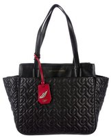 Diane von Furstenberg Quilted Leather On The Go Tote