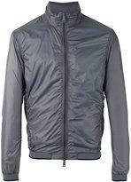 Armani Jeans classic biker jacket - men - Polyester - 54
