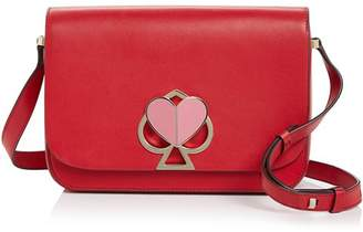 Kate Spade Medium Flap Leather Shoulder Bag