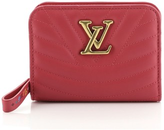 Louis Vuitton New Wave Zipped Compact Wallet Quilted Leather
