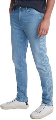 Tommy Hilfiger Men Slim-Tapered Fit Stretch Logo Jeans