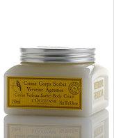 L'Occitane Citrus Verbena Sorbet Body Cream - 8.8 oz