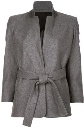 Acne Studios Grey Wool Jackets