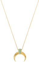 Charm & Chain Collection Sonora Necklace, Turquoise
