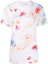 Peter Pilotto floral print organic cotton T-shirt