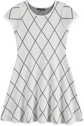 My Michelle Girls 7-16 Short Sleeve Sweater-Dress