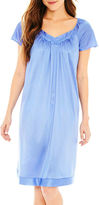 Vanity Fair Flutter-Sleeve Nightgown - Plus