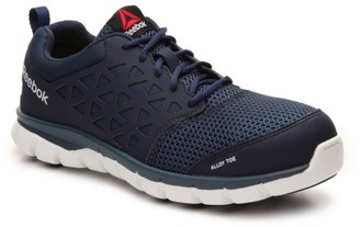 Reebok Sublite Cushion Alloy Toe Work Shoe