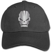 WBADLCW Big Boys' Call Of Duty Skull Platinum Style Baseball Snapback Cap