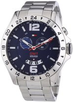 Tommy Hilfiger 1790975 Mens Blue and Silver Baron Chronograph Watch