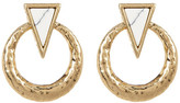 House Of Harlow Hymn to Selene Door Knocker Earrings