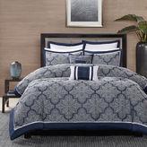 JCPenney Madison Park Barrett 8-pc. Jacquard Comforter Set