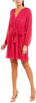 Joie Favia Silk-Blend Mini Dress