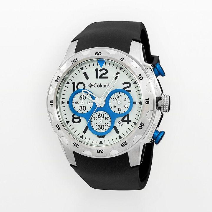 Columbia watch - men's transit rubber chronograph