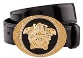Versace Medusa Patent Belt