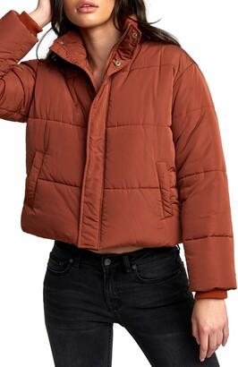 RVCA Eezeh Puffer Coat