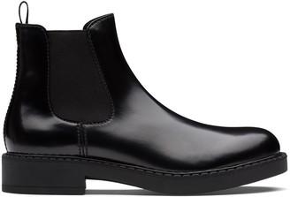 Prada brushed Chelsea boots