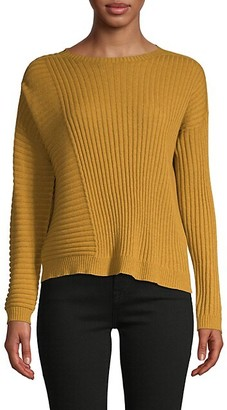 Eileen Fisher Rib-Knit Cashmere Sweater