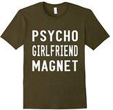 Men's Psycho Girlfriend Magnet T-Shirt Small