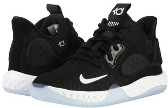 Nike Kids KD Trey 5 VII (Big Kid) (Black/White/Cool Grey/Volt) Kids Shoes