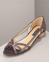 Cork-Wedge Sandal