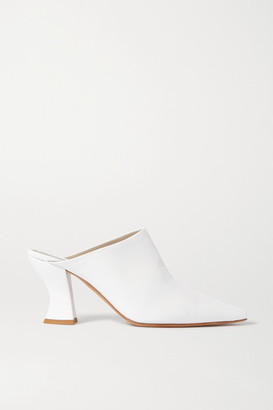 Bottega Veneta Leather Mules - White