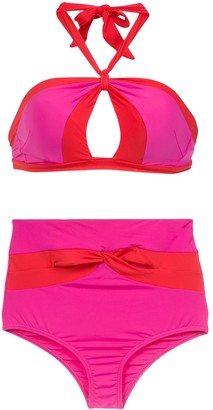 AMIR SLAMA High Waist Bikini Set