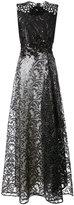 Talbot Runhof Noldin dress - women - Polyester/Acetate/Cupro - 34