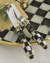 Mackenzie Childs MacKenzie-Childs Courtly Check Canape Knives