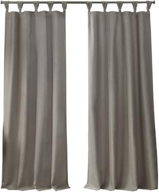 Home Outfitters Loha GT Linen Braided Top Curtain Panels/96""