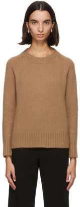 S Max Mara Beige Knit Cashmere and Mohair Caio Sweater