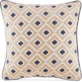 "Croscill Kayden 16"" Geometric Jacquard Fashion Decorative Pillow"